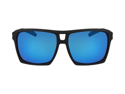 THE VERSE - Matte Black H2O ; with Polarized Lumalens Blue Ionized Lens