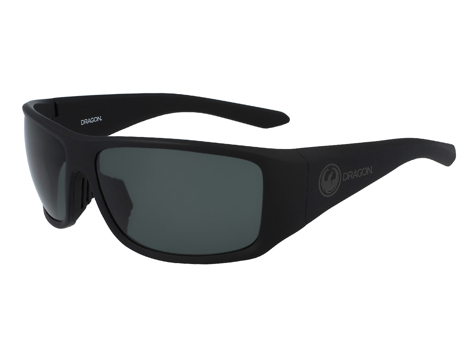 JUMP - Matte Black ; with Polarized Lumalens Smoke Lens