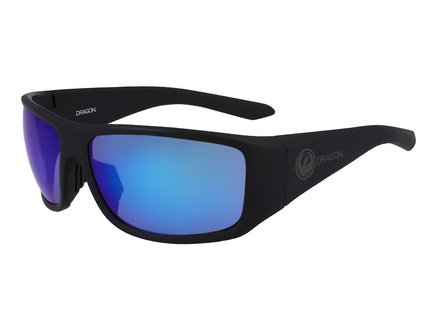 JUMP - Matte Black with Lumalens Blue Ionized Lens