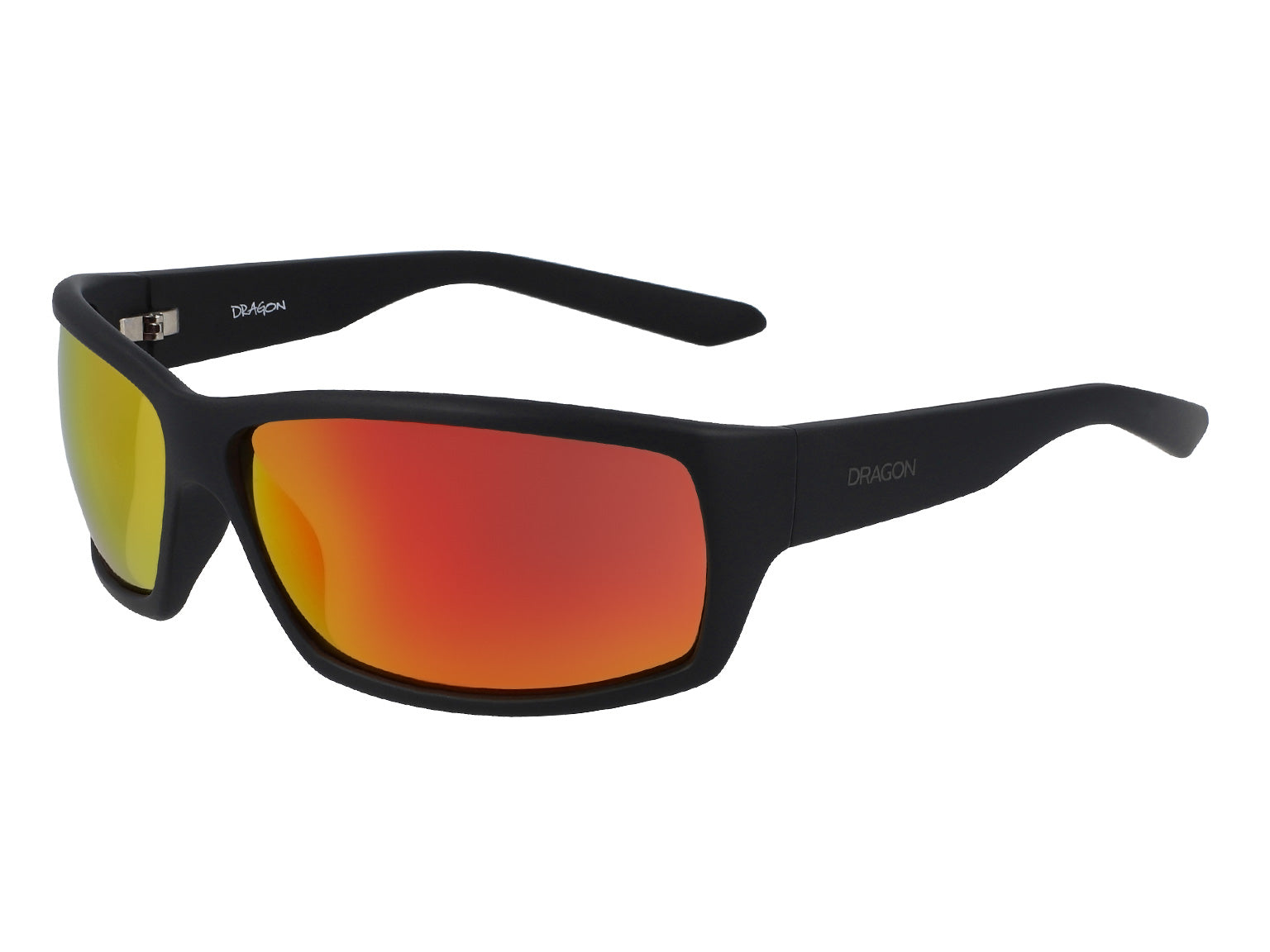VENTURA XL - Matte Black ; with Orange Ionized Lens