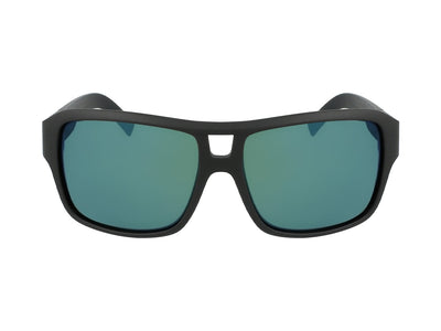 THE JAM SMALL - Matte Black H2O ; with Polarized Lumalens Petrol Ionized Lens