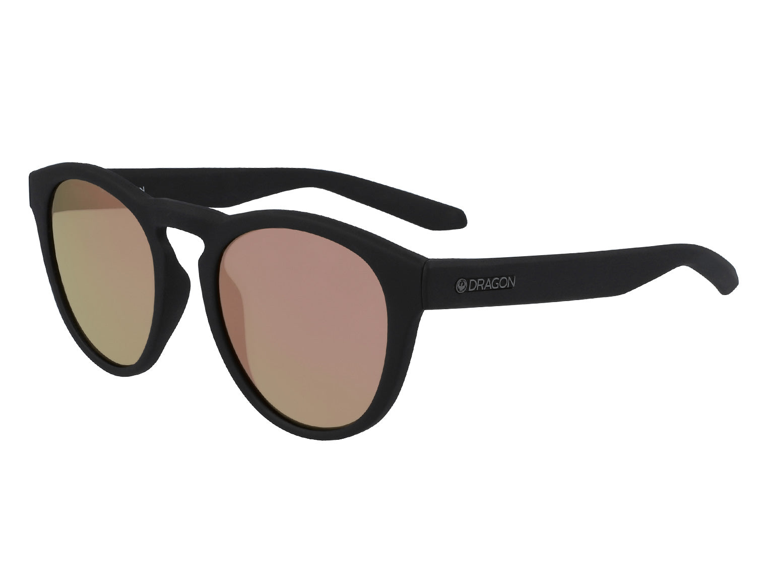 OPUS - Matte Black H2O ; with Lumalens Rose Gold Ionized Lens