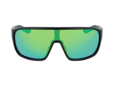 VESSEL X - Matte Black H2O ; with Polarized Lumalens Green Ionized Lens
