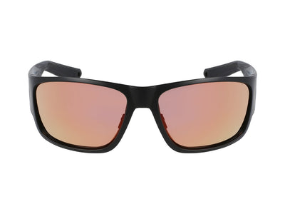 TIDAL X - Matte Black H2O ; with Polarized Lumalens Red Ionized Lens