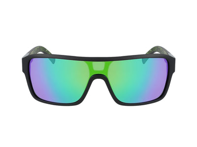 REMIX - Matte Black/Terrafirma ; with Lumalens Green Ionized Lens
