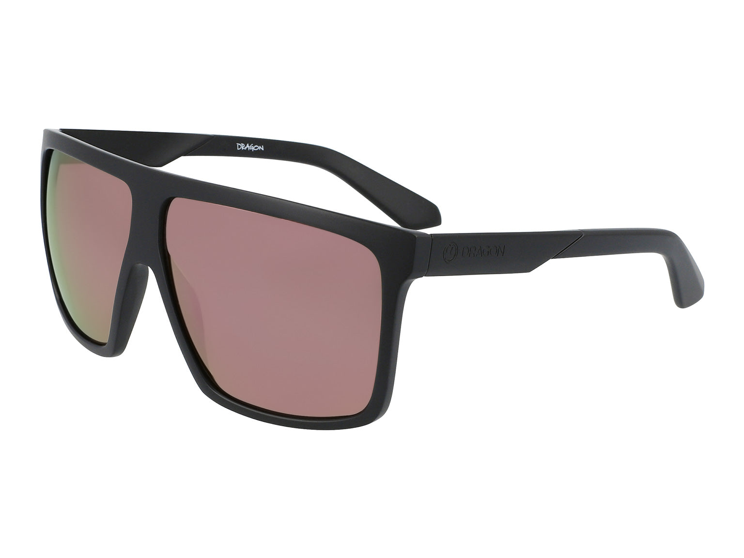 ULTRA - Matte Black ; with Lumalens Rose Gold Ionized Lens