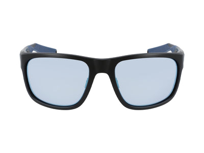 SHORE X - Matte Black H2O ; with Polarized Lumalens Super Blue Ionized Lens