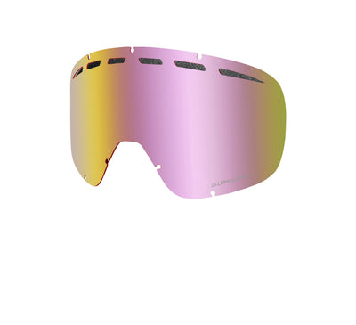 D1 OTG - PK White ; with Lumalens Red Ionized & Lumalens Pink Ionized Lens