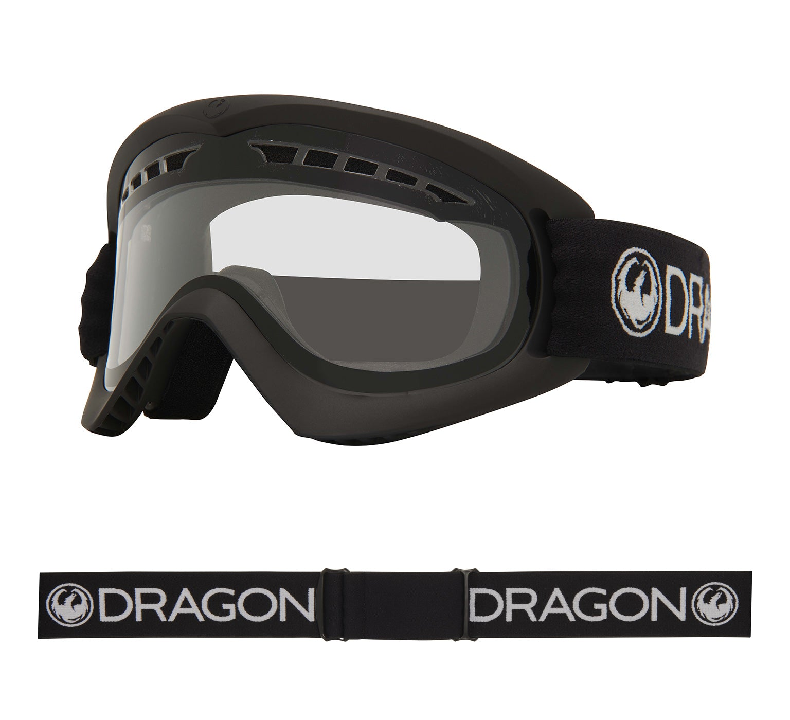 DX - Black ; with Clear Lens