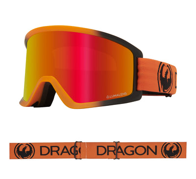 DX3 OTG - Tangerine with Lumalens Red Ionized Lens