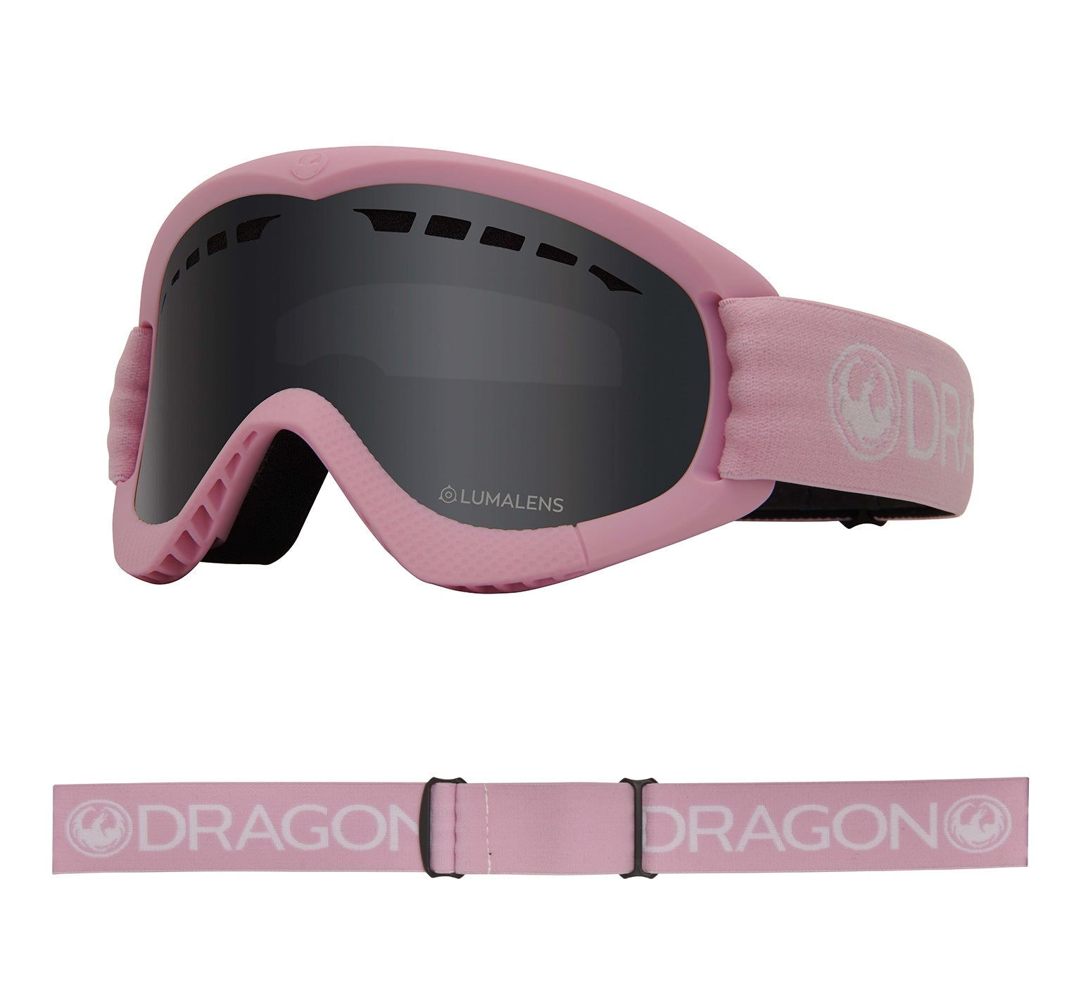 DXs - Pink with Lumalens Dark Smoke Lens