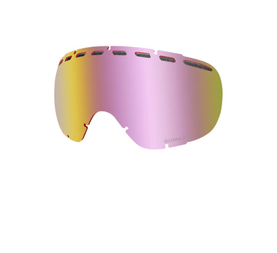 Rogue - PK White ; with Lumalens Red Ionized & Lumalens Pink Ionized Lens