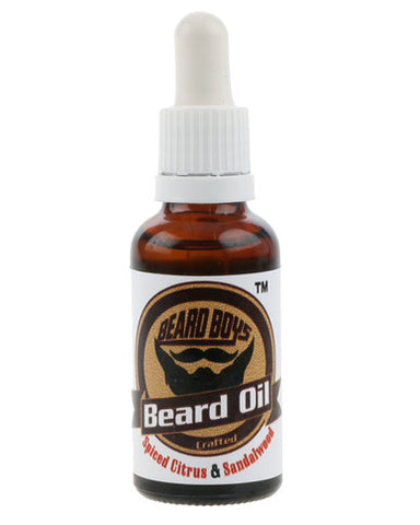 Beard Oil Spiced Citrus & Sandalwood