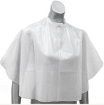 HairPro Cape Polyester, Short, White, Tie