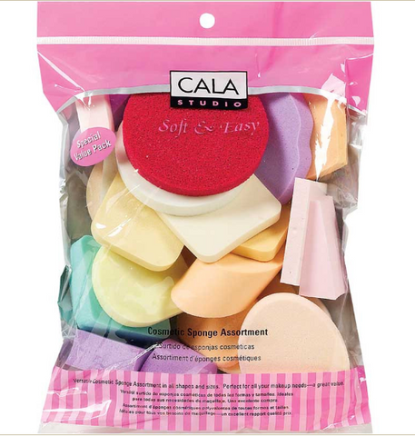 Cala Cosmetic Sponge Assortment