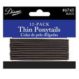Diane Head & Pony Tail Holders, 12/Pack