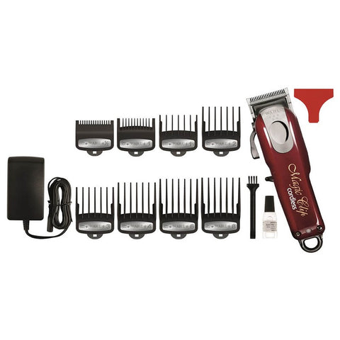 Wahl Magic Clip Cord/Cordless Clipper, 8 Combs