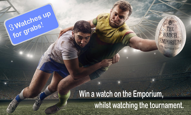 Win a watch on the Emporium, whilst watching the tournament.