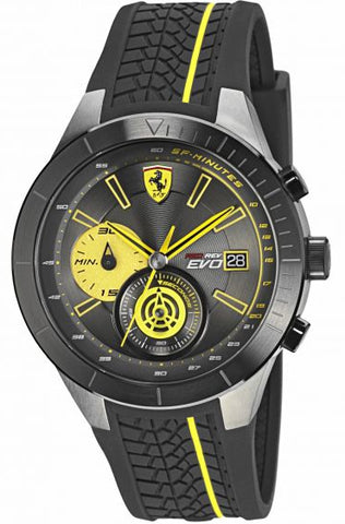 Scuderia Ferrari Mens Red Rev Evo Watch 830342