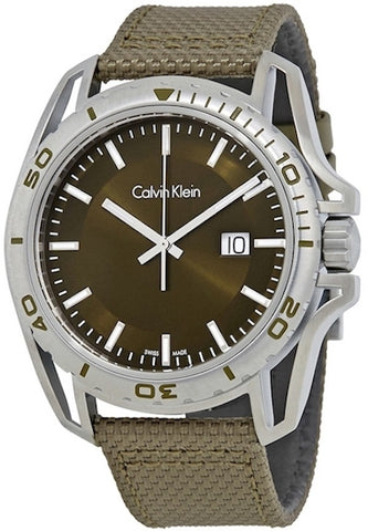 Ck Calvin Klein Mens Earth Watch K5Y31XWL