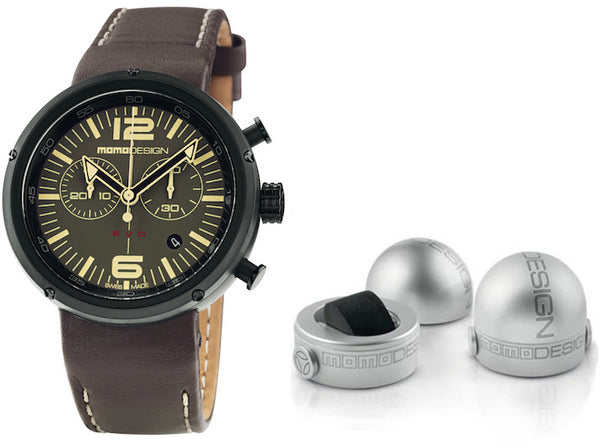 Momo Design Mens Evo Chrono Watch MD1012BR-32