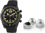 Momo Design Mens Dive Master Chrono Watch MD282BK-31