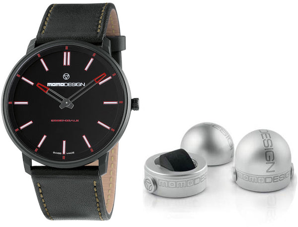 Momo Design Mens Essenziale Sport Watch MD6002BK-12