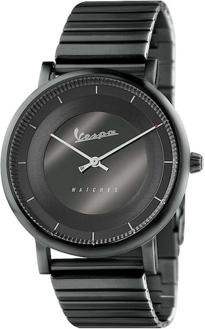 Vespa Watches Unisex Classy Watch VA-CL01-BK-03BK-CM