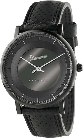 Vespa Watches Unisex Classy Watch VA-CL01-BK-03BK-CP