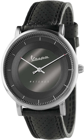 Vespa Watches Unisex Classy Watch VA-CL01-SS-03BK-CP