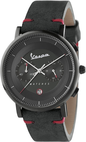 Vespa Watches Unisex Classy Watch VA-CL03-BK-03BK-CP