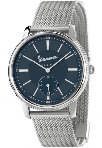Vespa Watches Unisex Heritage Piccolo Secondo Watch VA-HE02-SS-04BL-CM