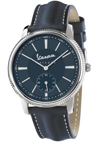 Vespa Watches Unisex Heritage Piccolo Secondo Watch VA-HE02-SS-04BL-CP