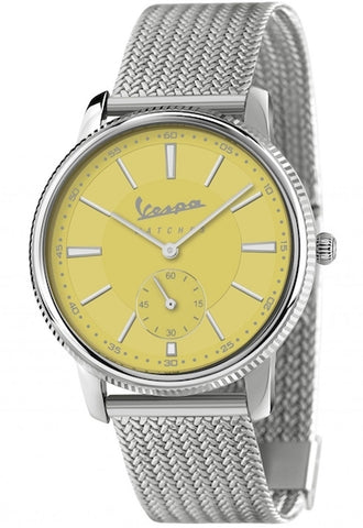 Vespa Watches Unisex Heritage Piccolo Secondo Watch VA-HE02-SS-05YW-CM