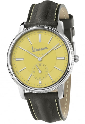 Vespa Watches Unisex Heritage Piccolo Secondo Watch VA-HE02-SS-05YW-CP