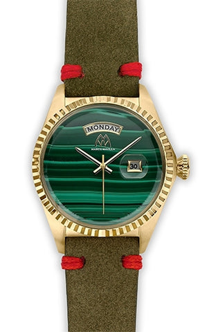 Marco Mavilla Ladies Malachite Watch VS1MAG001