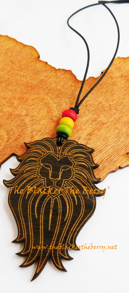 Lion Necklace Rasta Men Jewelry Wooden The Blacker The Berry®