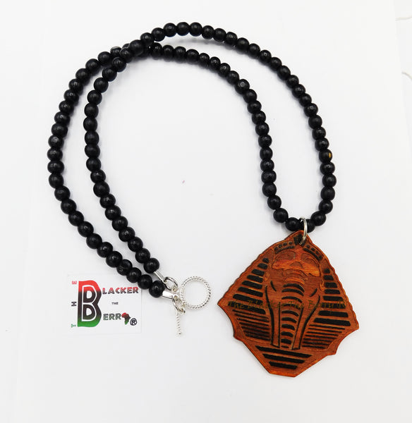 Pharaoh Necklace Egyptian Jewelry Men Long Ethnic Gift Ideas