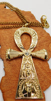 Ankh Necklace Large Jewelry Fashion Fathers Day