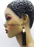 Sexy Earrings Black Jewelry Women Handmade The Blacker The Berry®
