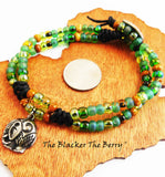 Elephant Anklet Beaded Stainless Steel Women Jewelry
