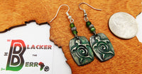 Turtle Earrings Tortoise Jewelry Patine Green Gift Ideas for Her