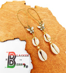 Ethnic Earrings Cowrie Butterfly Women Jewelry The Blacker The Berry®