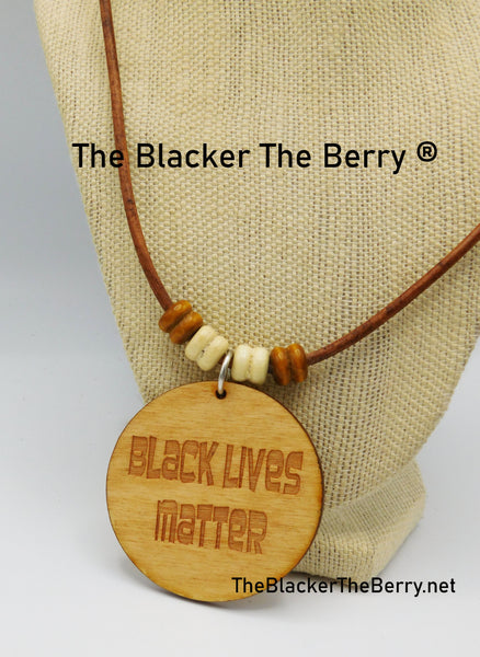BLM Necklace Jewelry Black Lives Matter Jewelry
