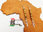 Ankh Earrings Long Ethnic Women Earrings The Blacker The Berry®
