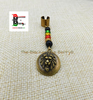 Lion Hair Jewelry Rasta Beaded Locs Dreads Adjustable