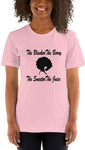 The Blacker The Berry Short-Sleeve Women's T-Shirt