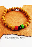 Pan African Bracelet RBG Jewelry Beaded Teen Women Boys