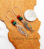 Blessed Earrings Women Christian Jewelry