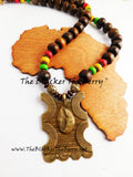 African Necklaces Men Women Rasta Ethnic Afrocentric